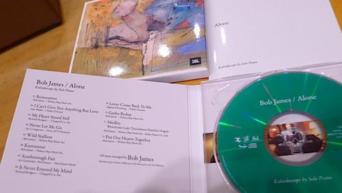 BOB JAMES / ALONE(ガラスCD)