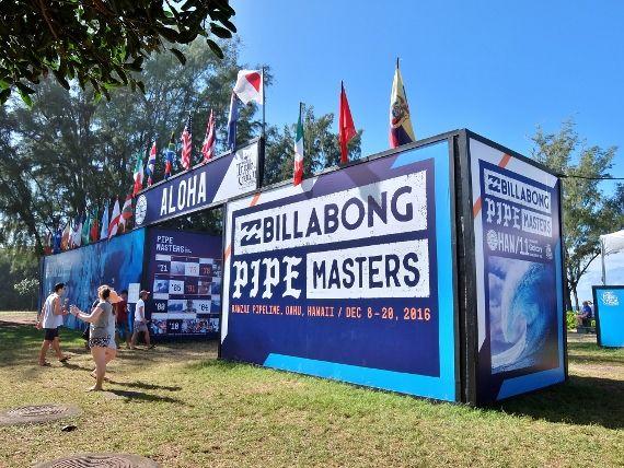 パイプマスター Pipe Masters エフカイ ビーチ パーク(Ehukai Beach Park) banzai