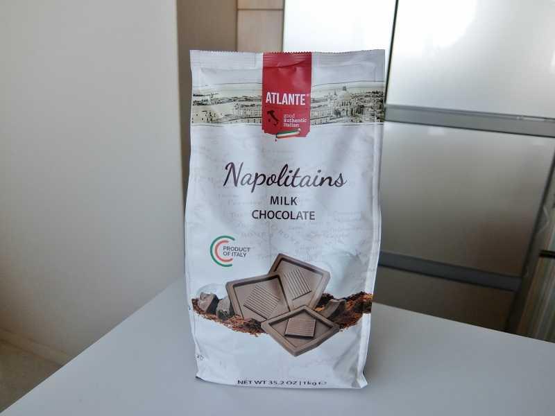 コストコ レポ ブログ Napolitans ミルク ナポリタンズ 円 チョコレート イタリア Atlante