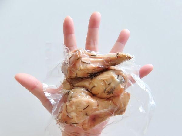 コストコで買ったチキンウィング Chicken Wings H&G 円 無塩せきスモークチキン ホワイトスモーク TheBetterTable