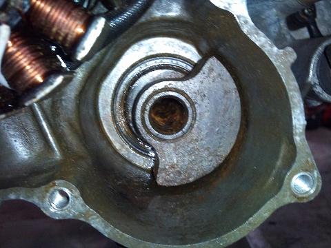2013.04 3MAエンジン修理&CRM化粧直し 067(スペアEのバランサーシャフト)