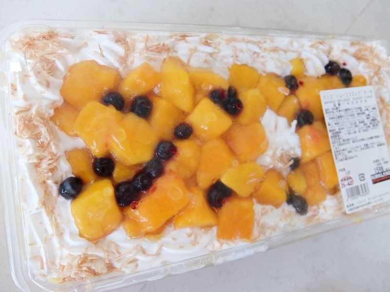 コストコ レポ ブログ マンゴームーススコップケーキ 円 新商品
