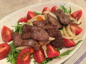 160409牛肉サラダ