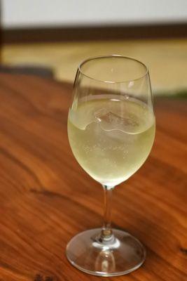 ワインに氷