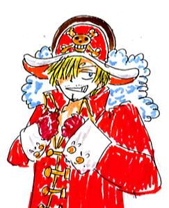 2012映画の海賊サンジ!