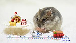 カリンちゃんカレンダー