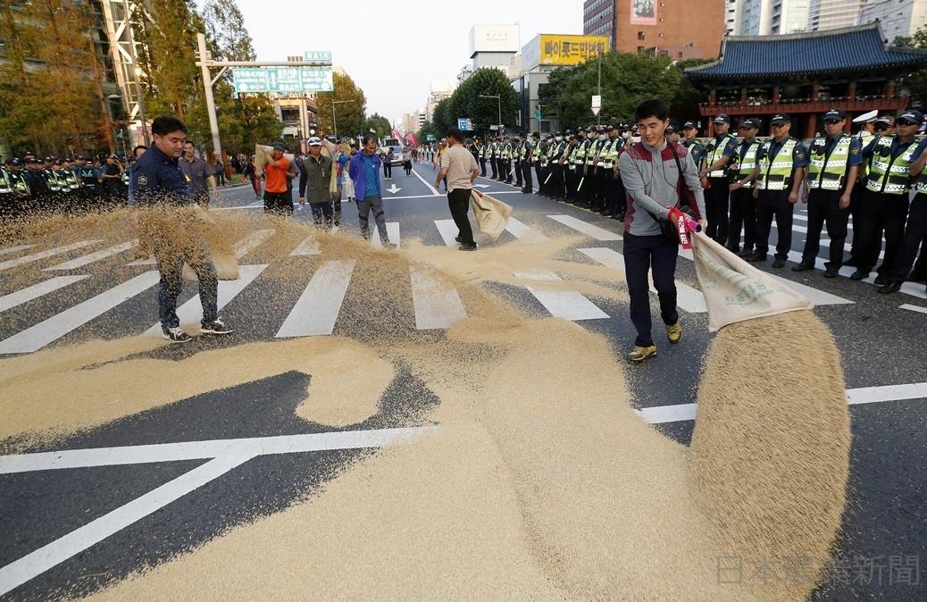 韓国で米価暴落 全国で抗議やデモ | ミロくんの都合 - 楽天ブログ
