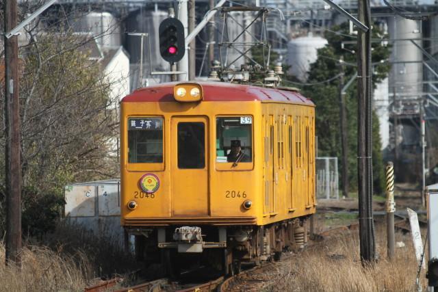 銚子電鉄デハ1001ありがとう さよなら