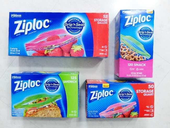 コストコ レポ ブログ ジップロック バラエティアソート 保存袋 オンライン