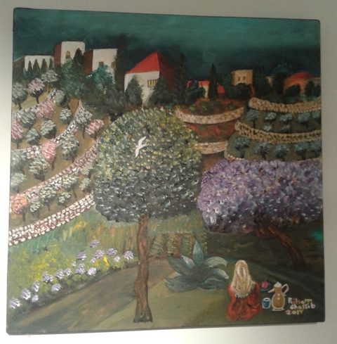 ヨルダン人の画家さんの絵2