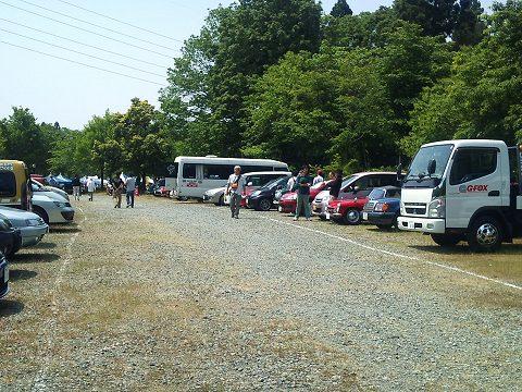 2012.05.27 FTP グループ駐車場風景