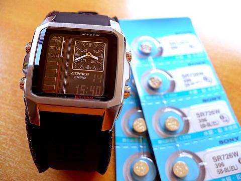 383f6754a7 腕時計用のボタン電池購入♪+( ̄◇ ̄;)エッ!(.人.)ぼよーんを(/▽゜\)チラッ