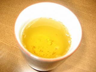風味豊かなゴボウ茶