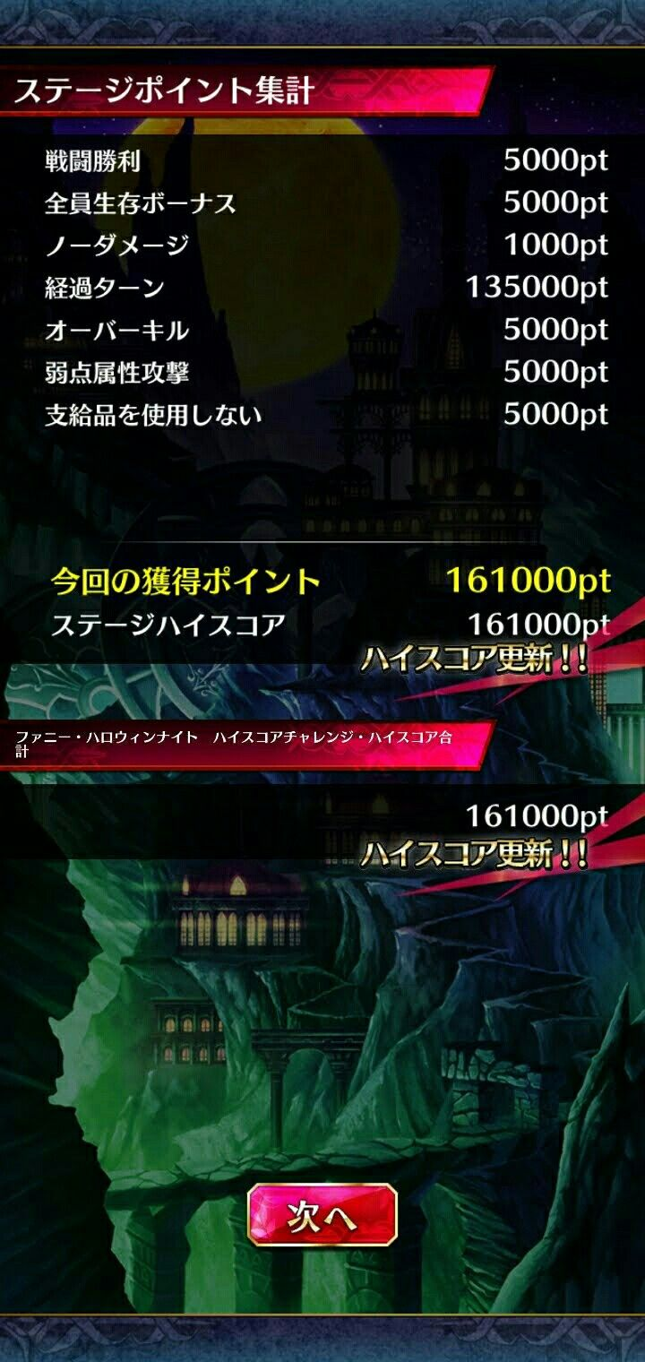 スコア ハロウィン チャレンジ スペシャル