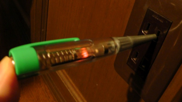 検電ドライバー ANEX 1035-L ペンシル型 AC極性判定
