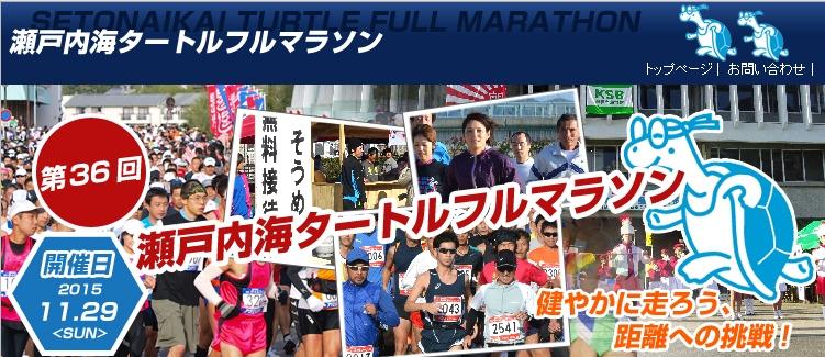 瀬戸内海タートルマラソン2015
