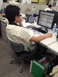 事務所でもイーグル・スター.JPG