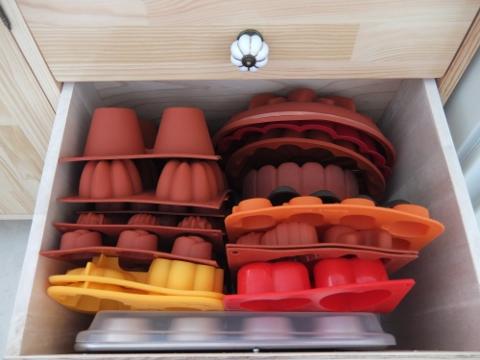 DIY キッチン キャビネット 製菓 パン 道具 型 シリコン イタリア