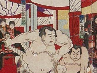 相撲博物館「明治時代の大相撲」...