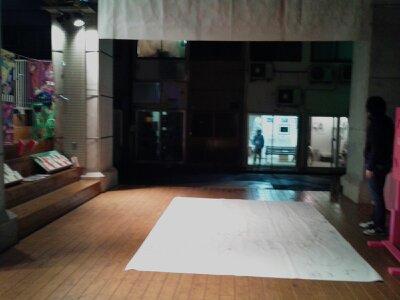 黄金町バザール2012・かいだん広場2