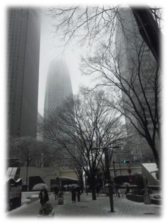 2012.2.29.雪の新宿