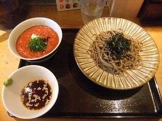 つけ蕎麦安土@高田馬場のトマトつけ蕎麦