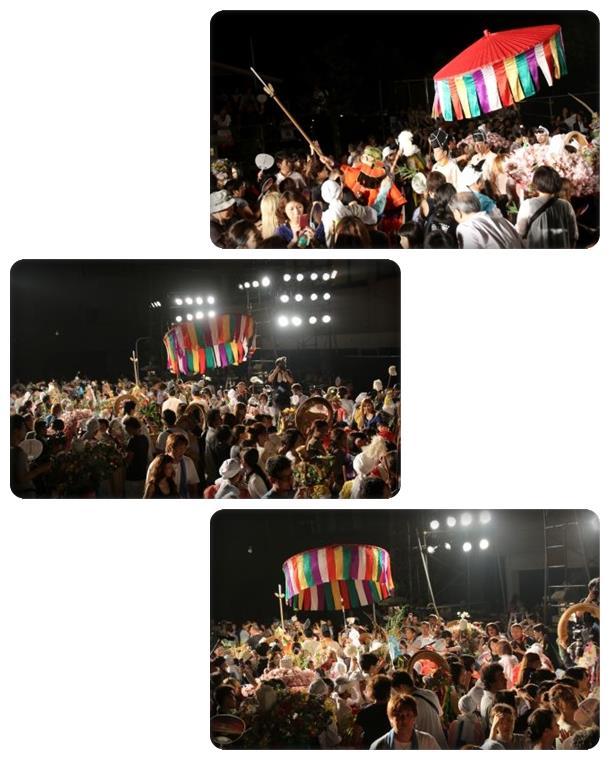 山代大田楽-50 行進・復-1 15.8.2