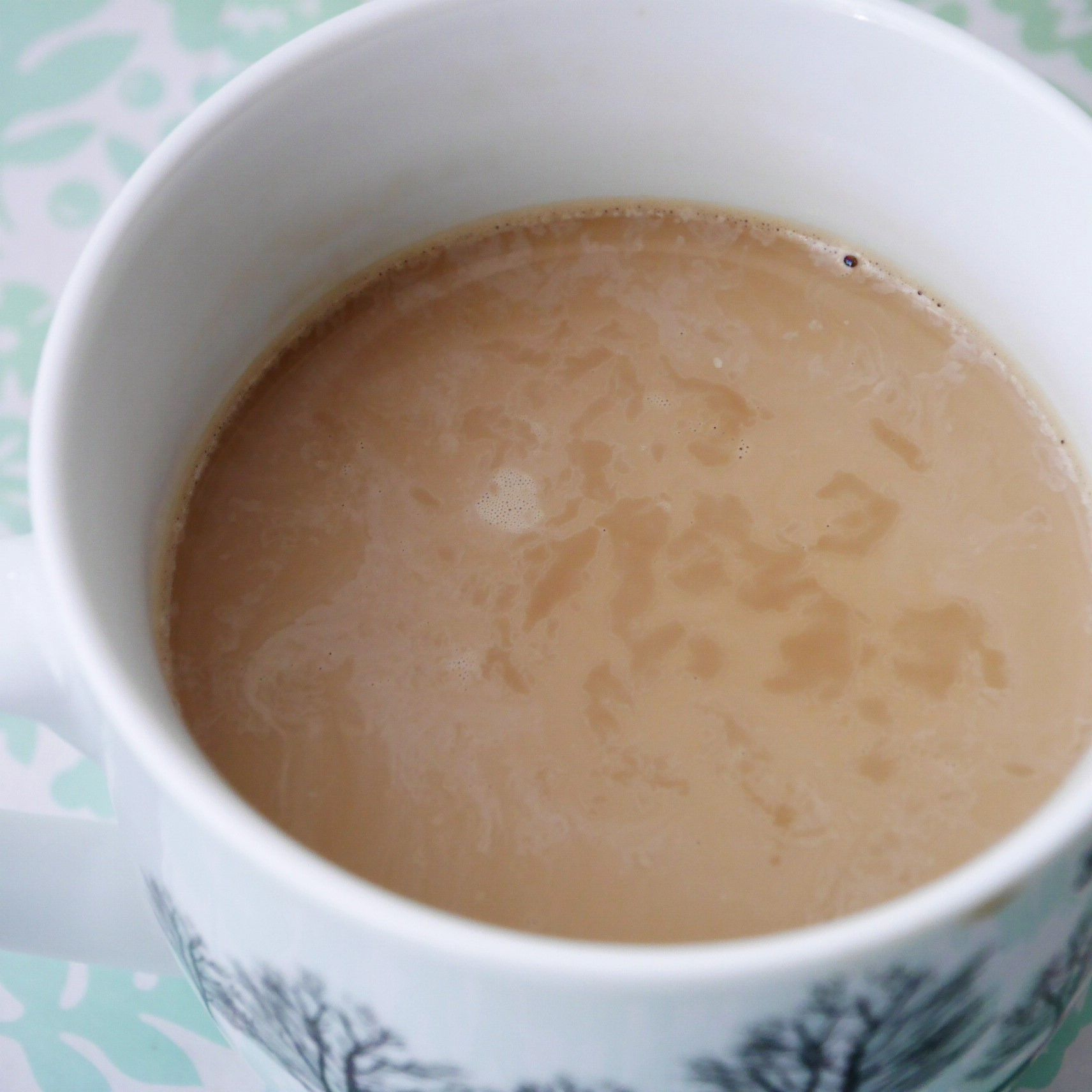 ファミマ_バターコーヒー_ホット