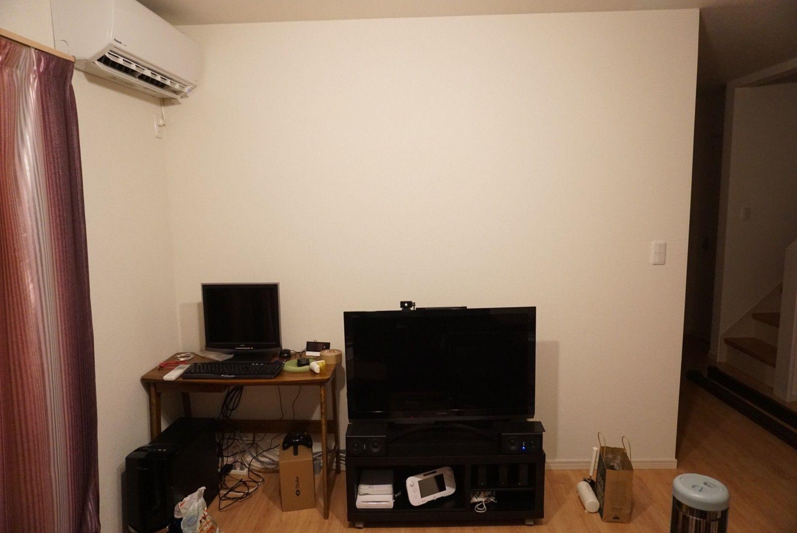 インテリア テレビを壁掛けにしよう その1 空想現実 Fantasy Reality 楽天ブログ