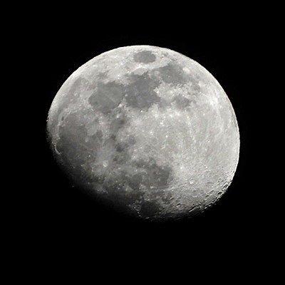 十二夜の月