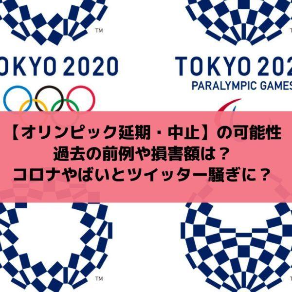 中止 前例 オリンピック