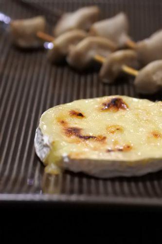 カマンベールチーズ焼き