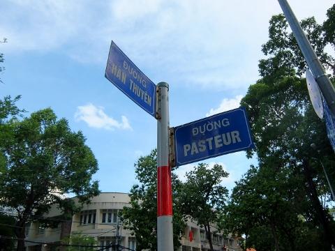 ベトナム ホーチミン 看板 標識 通り