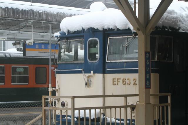 しなの鉄道  桜 .雪 .霧 .169系 国鉄 湘南急行色 6連3