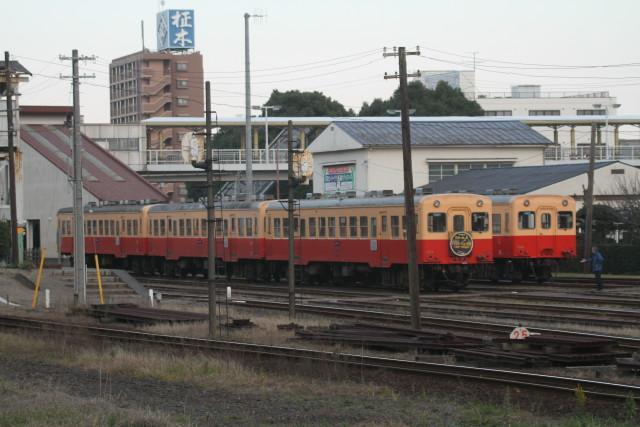 小湊鉄道 団臨 イルミネーション4