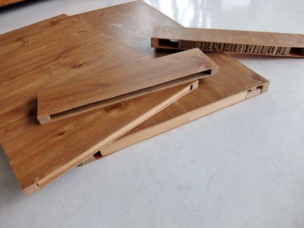 家具 サイズ変更 切る 簡単 空洞 DIY