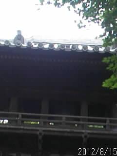 鑁阿寺の鐘楼2
