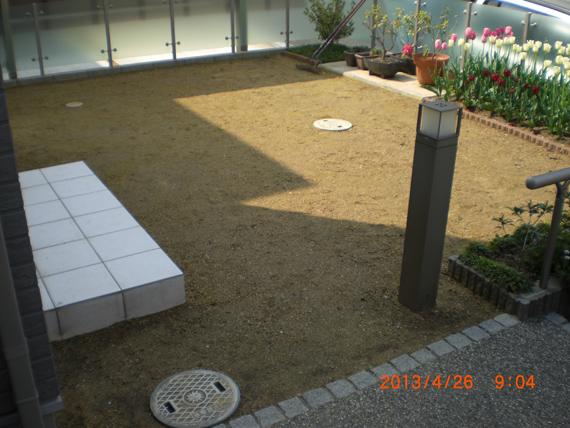 奈良市帝塚山西、施工前の画像です。