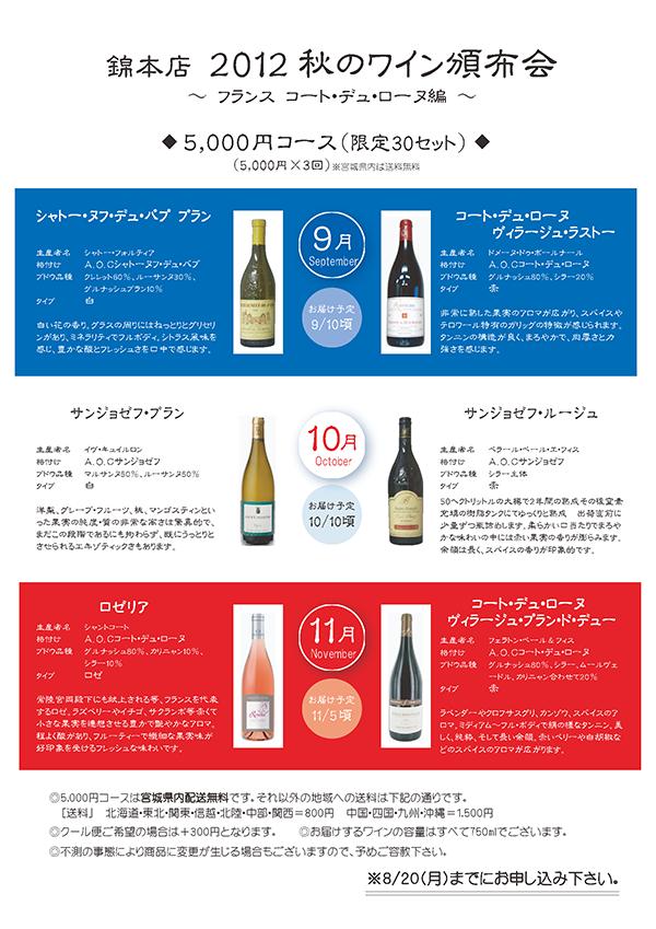 2012ワイン頒布会2