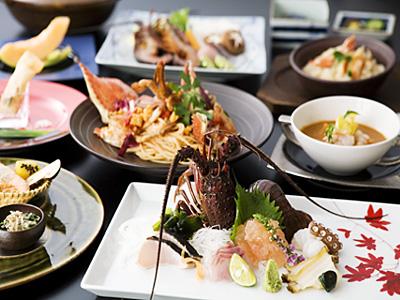 海老・蟹づくしコース (料理イメージ)