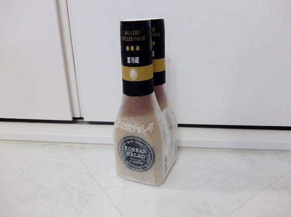 コストコ ドレッシング Choregi Sauce 528円也(130円引き) ビックシェフ すりおろしチーズ メーカー うま塩チョレギソース