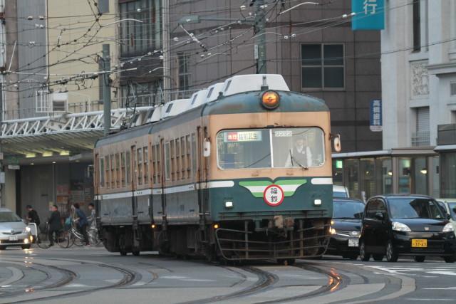 福井鉄道 新旧 並びの 数々2