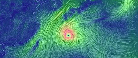 2014台風18号