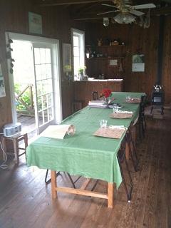 ガーデンカフェ タイム お食事スペース
