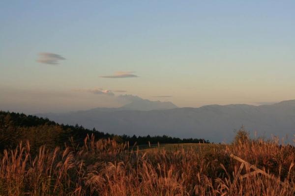 高ボッチから御嶽山