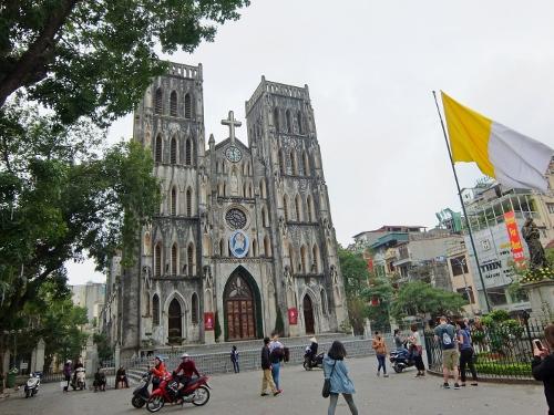 ハノイ ベトナム 大教会