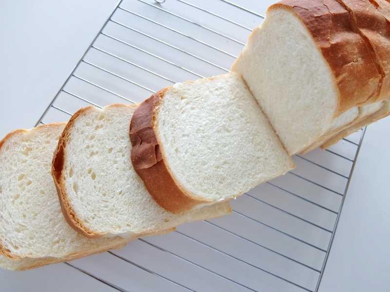 イギリスパン 山食パン ふわふわ レシピ 手こね