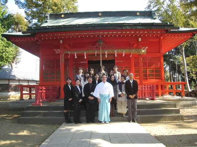 小野神社正式参拝