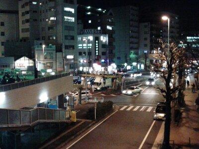 東神奈川駅前2013年2月