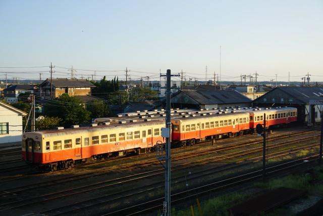 小湊鉄道 五井跨線橋 見納め6